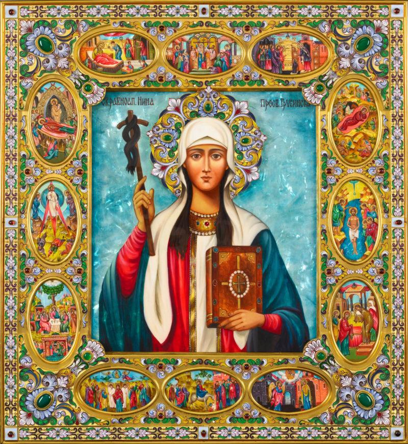 На 14 януари православната църква чества Св. Равноапостолна Нина - ndt1.eu